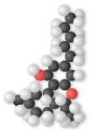 Molécule de THC